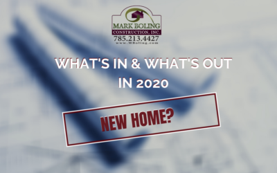 What's in and What's out in 2020!